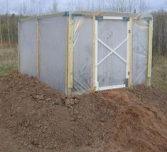 Free Green House Plans - How to Build An Insulated, Raised-Bed Green House