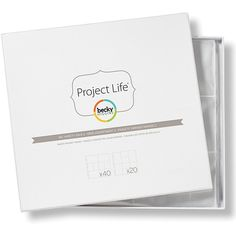 American Crafts Project Life Photo Pocket Pages Big Variety Pack 2 - 60-pack