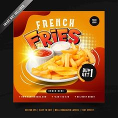 YusufSangdes | Freepik Social Media Banner, Social Media Template, Restaurant Promotions, Best Fast Food, Burger Menu, Breakfast Restaurants, Food Banner, Delicious Burgers, Instagram Post Template