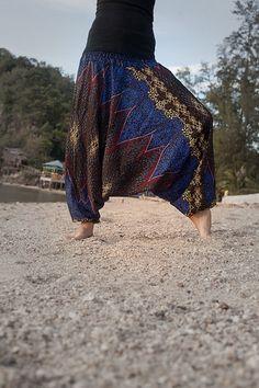 Harem Pants / Baggy Pants / Aladdin Pants / Yoga by AsianCraftShop, $20.00