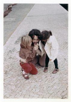 Bearded Paul McCartney