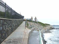 Cliff Walk, Newport, RI