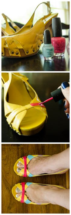 1000 images about diy shoe repair on pinterest old for How to renew old nail polish