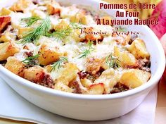 pommes de terre au four a la viande hachee2 Healthy Eating Tips, Healthy Nutrition, Beef Recipes, Cooking Recipes, Healthy Recipes, Drink Recipes, Cheat Meal, Vegetable Drinks, Entrees