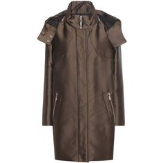 Moncler Gamme Rouge Down Coat (130,315 INR) ❤ liked on Polyvore featuring outerwear and coats