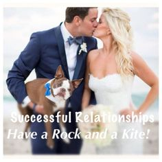 Successful Relationships Have a Rock and a Kite. Which are you?  #relationship #advice #relationshipadvice by Happy Family Blog