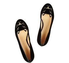 Loafers by Charlotte Olympia :)