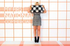 Mad For Plaid - My first ever national commercial with @target!