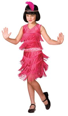 Pink Flapper Child Costume from BuyCostumes.com