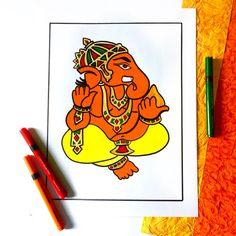 Ganpati Drawing, Shiva, Winnie The Pooh, Disney Characters, Fictional Characters, Drawings, Art, Art Background, Winnie The Pooh Ears