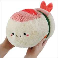 Mini Comfort Food Shrimp Sushi! #plush