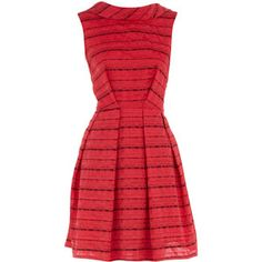 Love the rolled neck, outside darts & pleats.  I want to make this!  $84
