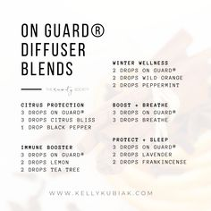 Diffuser Blends using doTERRA's OnGuard® Protective Blend Doterra Diffuser, Essential Oil Diffuser Blends, Essential Oil Uses, Doterra Essential Oils, Education, Doterra Recipes, Ju Ju, Oil Mix, Diffuser Recipes
