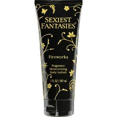 Sexiest Fantasies Body Lotion, Fragrance Moisturizing, Fireworks, 7 oz. by SEXIEST FANTASIES. $3.59. Its long lasting. Wild strawberries, succulent peaches and voluptuous vanilla come together to create this fragrance. Pampers your skin with a special blend of moisturizers. Created to uplift and energize the Body. Sexiest Fantasies Fire Works is a burst of sensuality as plump wild strawberries, succulent peaches and voluptuous vanilla come together to create a ...