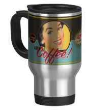 The Kitsch Bitsch : KB's Coffee! Travel Mug
