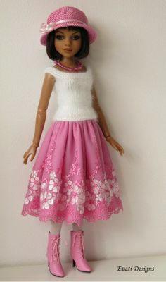OOAK Outfit for Ellowyne by *evati* via eBay SOLD 5/4/14   $86.00