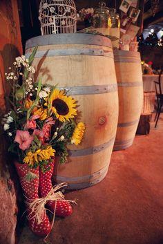 loving flowers in wellies