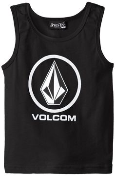 Amazon.com: Volcom Little Boys' New Circle Tank: Clothing