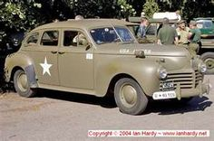 1941 Chrysler Royal Staff Car - This is the car that the gentlemen with the Chaplin came up the drieway in with the fateful bad news...