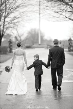 after the vows: walking away w/ the kids
