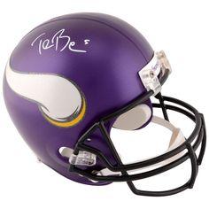 Teddy Bridgewater Minnesota Vikings Fanatics Authentic Autographed Riddell Replica Helmet