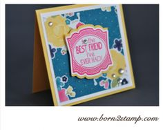 Stampin' UP! DSP Gartenparty Label love