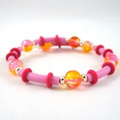 Memory Wire Bracelet for Teens and Children by HCJewelrybyRose #hollerh