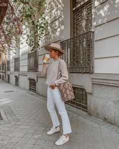 In this look Alexandra Pereira wears clothes from Mango, Zara, Lack Of Color and Saint Laurent Paris Spring Summer Fashion, Spring Outfits, Trendy Outfits, Autumn Fashion, Cute Outfits, Paris Spring Outfit, Outfit Summer, Looks Street Style, Looks Style