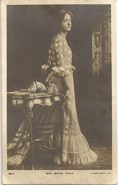Maude Fealy - Rotary 198r by Maude Fealy Postcard Gallery, via Flickr