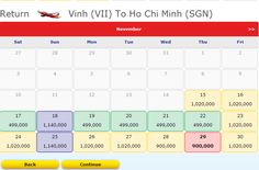 It's really cheap to flight from Vinh Airport to Ho Chi Minh city in Vietnam only 499,000 ( USD23.00). Get it now. http://www.muavere.com/2012/11/16/ve-may-bay-gia-re-nhung-uu-dai-moi-nhat-112012/