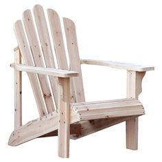 I pinned this Westport Indoor/Outdoor Adirondack Chair in Natural from the Outdoor Furniture Clearance event at Joss and Main!