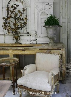 French country style decoration!