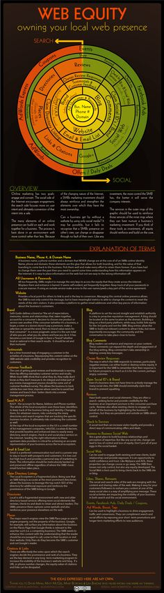Web Equity Infographic | Mike Blumenthal 716-372-4008