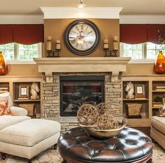 Old Milburnie Crossings | SAVVY Homes Could change basement color to this brown to go with fireplace