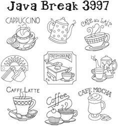 Java Break - Iron On Transfers