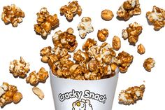 Cracky Snack - This snack recipe, modeled after Cracker Jack, has salty peanuts and popcorn tossed in molasses-caramel.