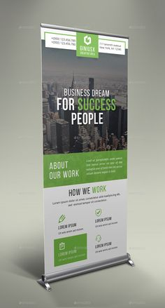 Buy Corporate Roll Up Banner Bundle by GeniusPoint on GraphicRiver. Features: Easy Customizable and Editable Size in with bleed CMYK Color Design in 150 DPI Resolution P. Standee Design, Banner Design, Flyer Design, Corporate Business, Business Design, Interior Design 2017, Banner Stands, Buntings, Web Banner