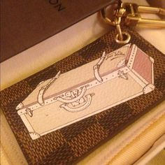"""Spotted while shopping on Poshmark: """"Louis Vuitton Charm""""! #poshmark #fashion #shopping #style #Louis Vuitton #Accessories"""