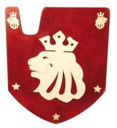 Escudos medievales para niños
