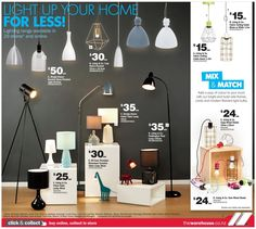 Home Mailer - Full Page Lighting