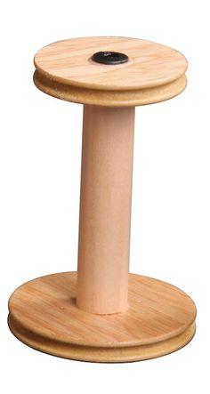 Einfädiger Antrieb: Standardspule  #ashford #spinning #wheel #eSpinner
