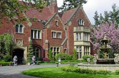 Thornewood Castle - One of the few real castles in America, located in Washington State on American Lake