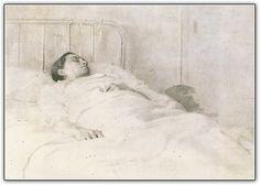 Mari en la clinica. Todas las pinturas de Antonio Lopez García.