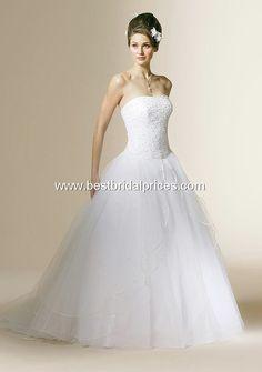 AUTHORIZED retailer 450- LACE UP BACK like Mary's prom dress! Mori Lee Informal Wedding Dress 3654