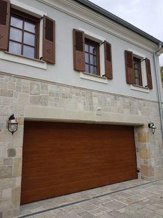 Házak, homlokzatok - Otti- burkolat,térkő,cementlap,kandalló,fedkő,lépcső,lábazat,kőkút Garage Doors, Outdoor Decor, Home Decor, Homemade Home Decor, Decoration Home, Interior Decorating
