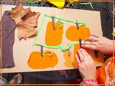 Textured Pumpkin Patch - September Online Kids Book Club - Inspire Creativity, Reduce Chaos & Encourage Learning with Kids