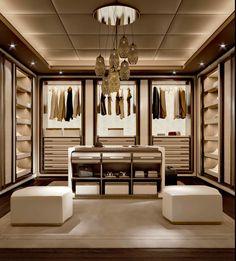Luxury wardrobe, luxury closet, bedroom closet design, walk in closet desig Walk In Closet Design, Bedroom Closet Design, Closet Designs, Bedroom Decor, Dressing Room Closet, Dressing Room Design, Dressing Rooms, Luxury Wardrobe, Luxury Closet