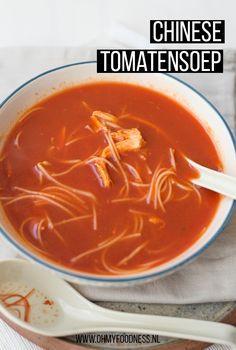 Dutch Recipes, Easy Soup Recipes, Easy Healthy Recipes, Asian Recipes, Vegetarian Recipes, Chicken Recipes, Cooking Recipes, Healthy Slow Cooker, Special Recipes