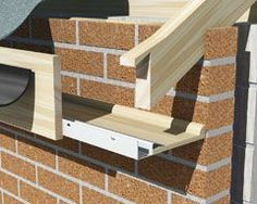 Manthorpe Continuous Soffit Vent (25,000mm2) - 2.44m White   Roofing Superstore®