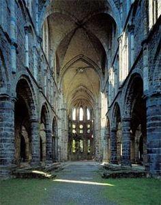 Découverte cet AM de l'Abbaye de Villers la ville. Assez incroyable comme endroit, j'ai beaucoup aimé.